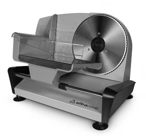 cortadora de fiambre y alimentos ultracomb fs6301
