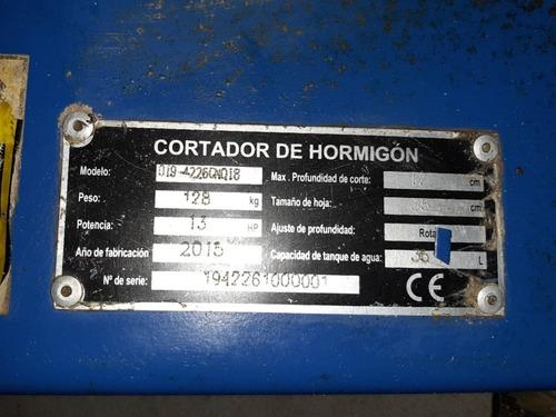 cortadora de hormigon
