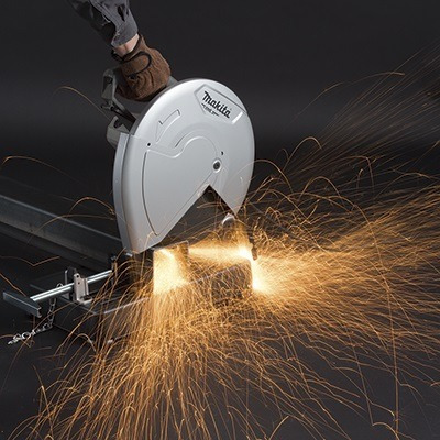 cortadora de metal makita  m2401g 14 pulgadas con disco rega
