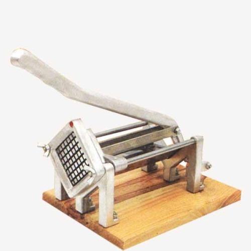 cortadora de papas fritas 1 corte  industrial madera