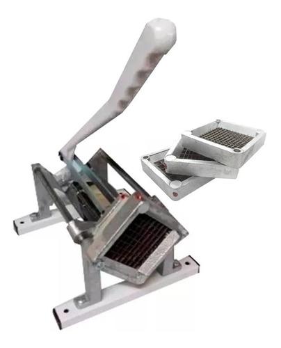 cortadora de papas horizontal nativa 3 cuchillas cortapapa