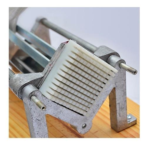 cortadora de papas horizontal nativa cuchilla 9x9 cortapapa