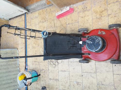 cortadora de pasto con bolsa , motor 3/4 electrica