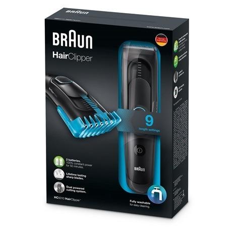 Cortadora De Pelo Hairclipper Braun Hc5010 -   1.435 14d99610f7f2
