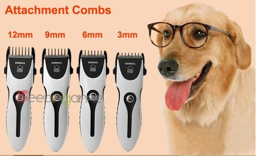 cortadora de pelo para perros y gatos zowael inalámbrica