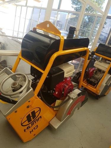 cortadora de piso con motor honda de 13hp y disco de 14 pulg