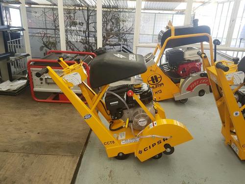 cortadora de piso con motor mpower de 9hp y disco de 14 pulg