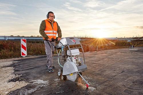 cortadora de piso para disco wacker neuson nueva mfs1350