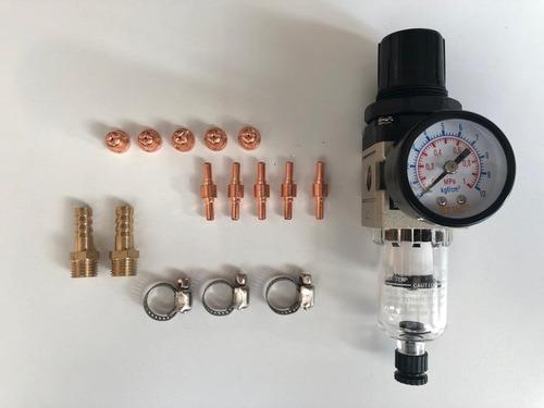 cortadora de plasma inverter 8mm 220v lusqtoff incut-40