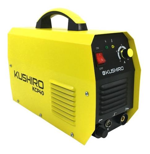cortadora de plasma kushiro 40 igbt profesional 12 mm