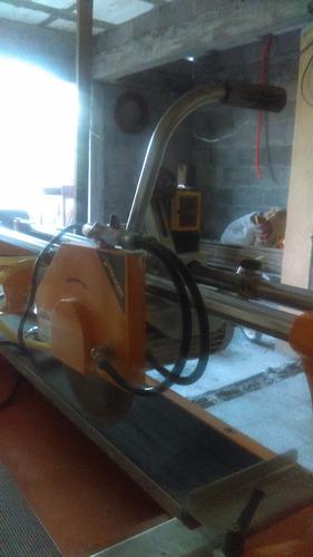 cortadora de puente con disco diamantado de 12