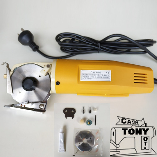 cortadora de tela mini cutter grande dayang rsd-70