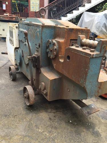 cortadora de varilla alba crm55 2009 seminueva dos piezas