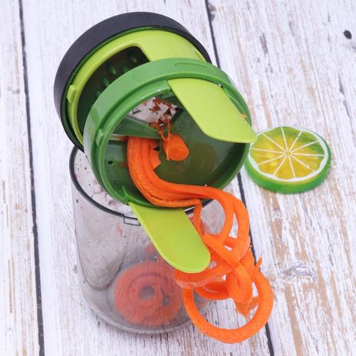 cortadora espiral, spiralizer, cortador, ensaladas.