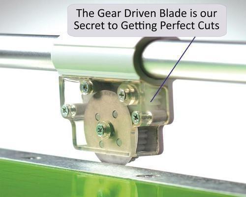 cortadora guillotina scrapbook cutterpillar-pro con luz led