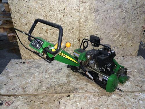 cortadora helicoidal greenera john deere 220 e híbrida