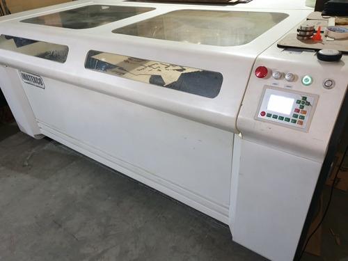cortadora laser 180 x 120 doble tubo 160 w.