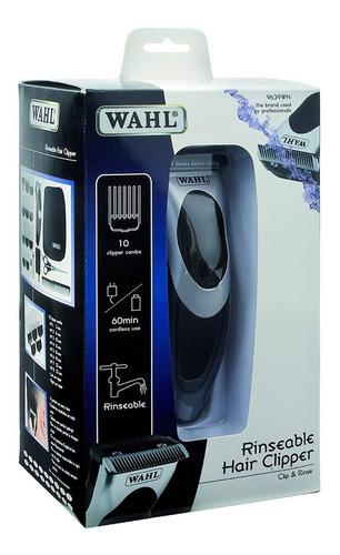 cortadora lavable recargable con o sin cable wahl mod 9639wn