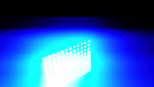 cortadora led rgb colores ritmico ( led luces sicodelicas)