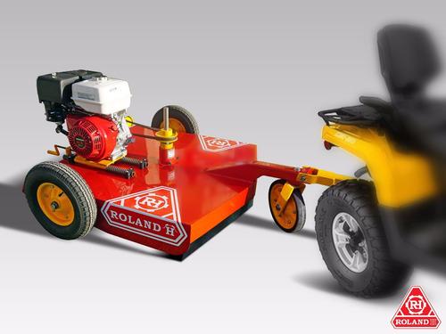 cortadora para cuatriciclo roland h100 con motor honda 13hp
