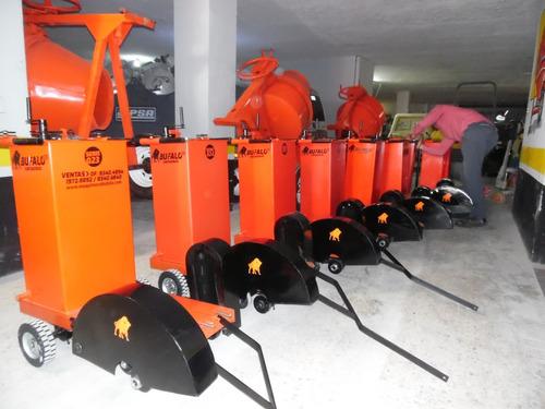 cortadora para piso a gasolina marca  bufalo