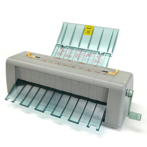 cortadora para tarjetas de presentación. hasta 60 por minuto