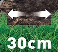 cortadora pasto 1.000w 30 cms corte gr3000-b2c black&decker