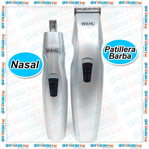 cortadora patillera y nasal trimmer easy groom wahl