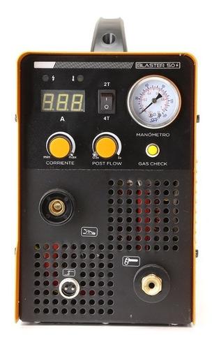 cortadora plasma inverter monofasica 50 amp con mascara