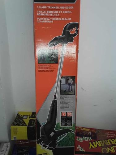 cortadora podadora manuel para grama