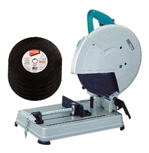 cortadora sensitiva 355mm 2000w +26 discos  makita 2414nbx