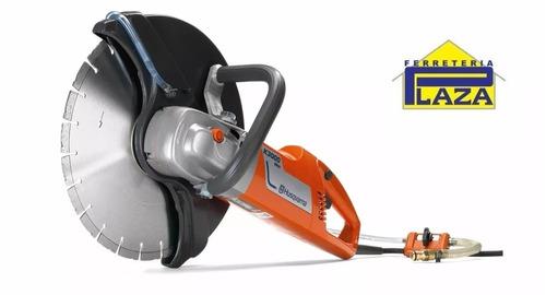 cortadora tronzadora pavimento hormigón 2700w 14p husqvarna