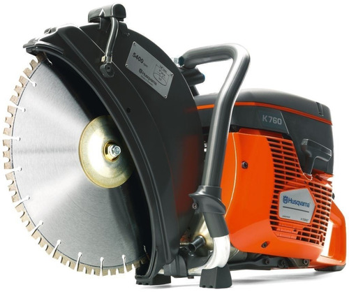 cortadora tronzadora pavimento hormigon 5hp 12/14p husqvarna