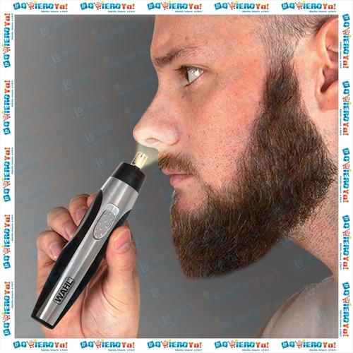 cortadora wahl 3 en 1 barba cejas nariz oreja lighted detail