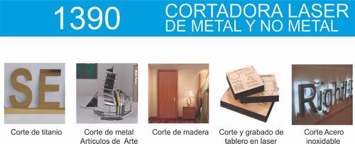 cortadora y grabadora láser de metal y no metal