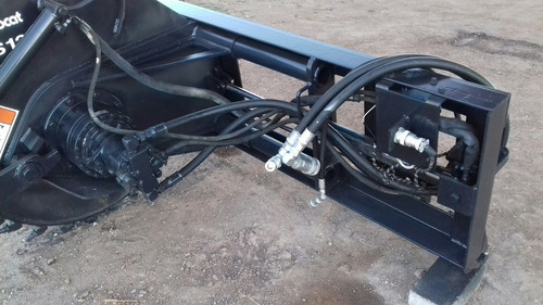 cortadora zanjadora saw bobcat ws12 para minicargador bobcat
