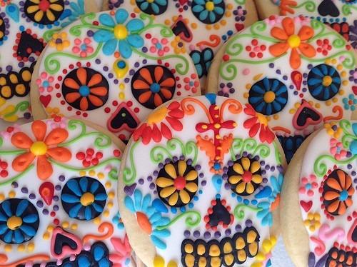 cortadores de galletas calavera dia de muertos 4pzs