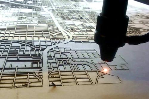 cortando en laser -  corte y grabado láser acrilico