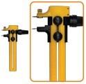cortante compás cutter circular para circulos perfectos 22cm