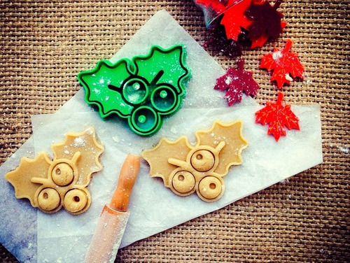 cortante cutter reposteria - 10 cutters- navideños navidad