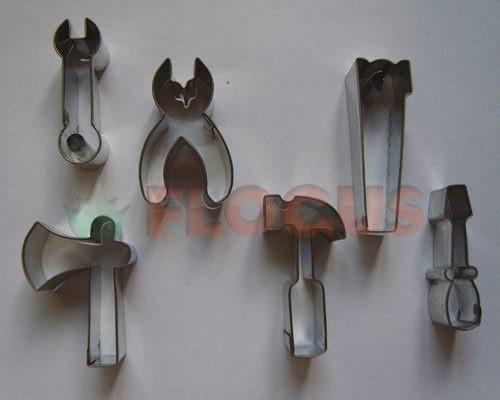 cortante molde set herramientas flogus porcelana cookie masa