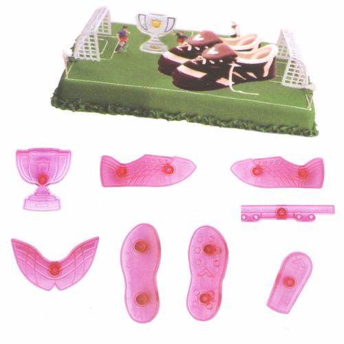 cortante, molde, zapatilla, botin de futbol porcelana fria,p