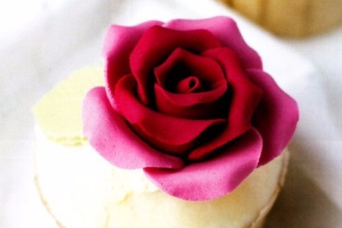 cortante petalo rosa fondant porcelana fria envios