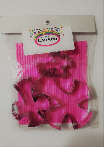 cortantes cruz pack x3 / lauacu