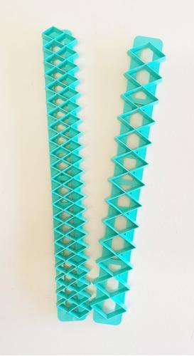 cortantes geometricos diamante set x 2 tamaños - reposteria
