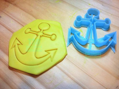 cortantes  para galletitas ancla, barcos !