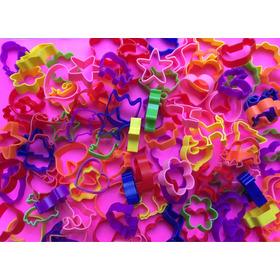 Cortantes Para Masa X 100 Moldes Plasticos Souvenirs