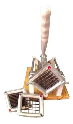 cortapapas gastronómico industrial con 3 cuchillas
