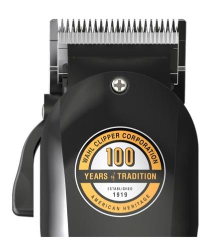 cortapelo wahl edición 100 años negra- tienda oficial