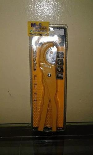 cortatubos pvc 3-35mm 210mm marca ingco modelo hpc0535